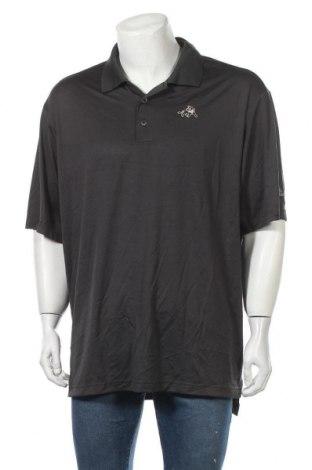 Ανδρικό t-shirt Adidas, Μέγεθος XXL, Χρώμα Γκρί, Πολυεστέρας, Τιμή 12,96€
