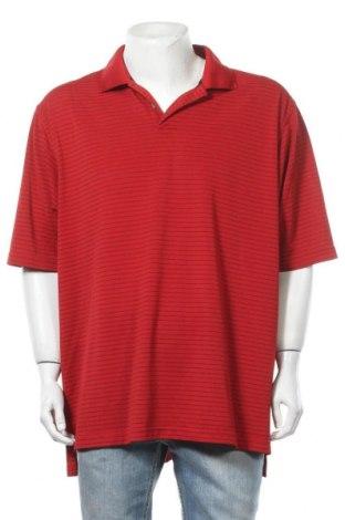 Ανδρικό t-shirt Adidas, Μέγεθος XXL, Χρώμα Κόκκινο, Πολυεστέρας, Τιμή 11,72€
