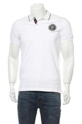 Мъжка тениска Bruno Banani, Размер M, Цвят Бял, 95% памук, 5% еластан, Цена 36,75лв.
