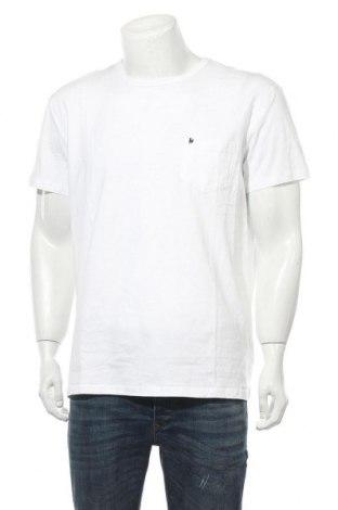 Мъжка тениска Bruno Banani, Размер XL, Цвят Бял, Памук, Цена 36,75лв.