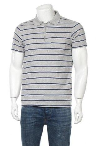 Мъжка тениска Burton of London, Размер M, Цвят Сив, Памук, Цена 15,75лв.