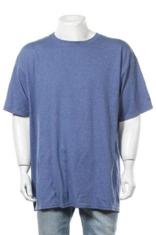 Ανδρικό t-shirt Champion, Μέγεθος XXL, Χρώμα Μπλέ, 50% βαμβάκι, 50% πολυεστέρας, Τιμή 6,43€