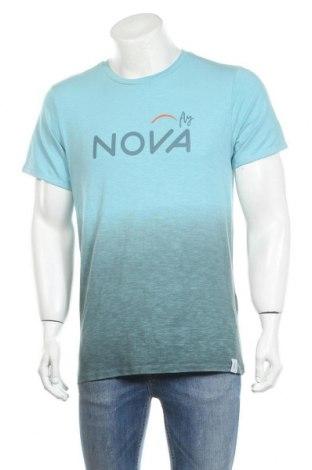 Ανδρικό t-shirt Chillaz, Μέγεθος M, Χρώμα Μπλέ, 61% βαμβάκι, 16% μοντάλ, 13% lyocell, 10% ελαστάνη, Τιμή 13,19€