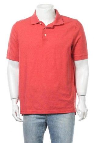 Мъжка тениска Croft & Barrow, Размер L, Цвят Червен, 60% памук, 40% полиестер, Цена 14,70лв.