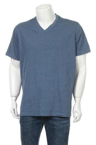 Мъжка тениска Eddie Bauer, Размер XXL, Цвят Син, 60% памук, 40% полиестер, Цена 15,17лв.