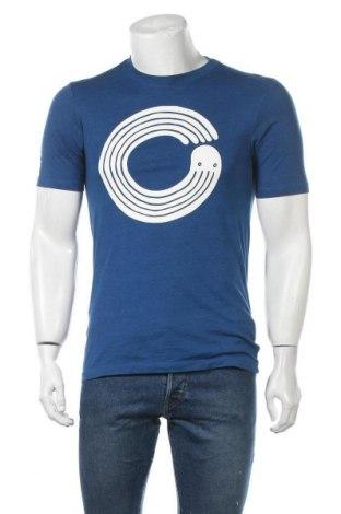 Мъжка тениска G-Star Raw, Размер XS, Цвят Син, 65% памук, 35% полиестер, Цена 29,45лв.