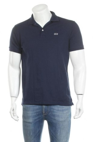 Мъжка тениска Gap, Размер S, Цвят Син, Цена 28,50лв.