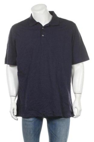 Мъжка тениска George, Размер XL, Цвят Син, Памук, Цена 18,90лв.