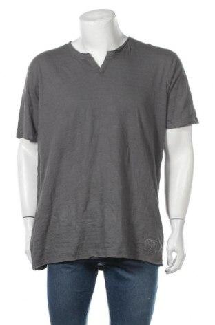 Ανδρικό t-shirt Guess, Μέγεθος XXL, Χρώμα Γκρί, Βαμβάκι, Τιμή 17,28€