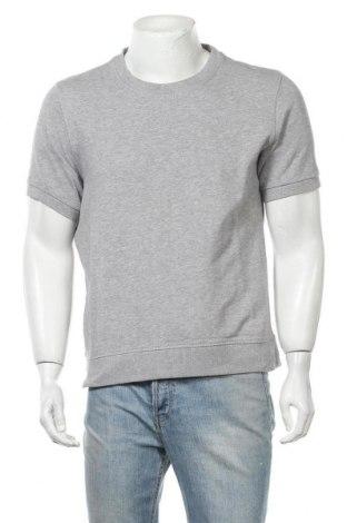Мъжка тениска H&M L.O.G.G., Размер M, Цвят Сив, 89% памук, 11% вискоза, Цена 16,96лв.