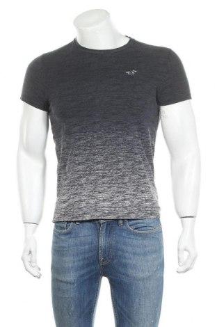 Ανδρικό t-shirt Hollister, Μέγεθος S, Χρώμα Γκρί, Βαμβάκι, Τιμή 8,83€