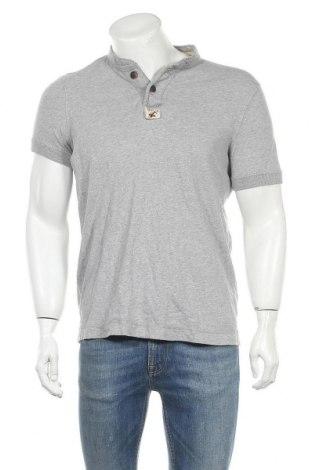 Мъжка тениска Hollister, Размер XL, Цвят Сив, Памук, Цена 20,95лв.