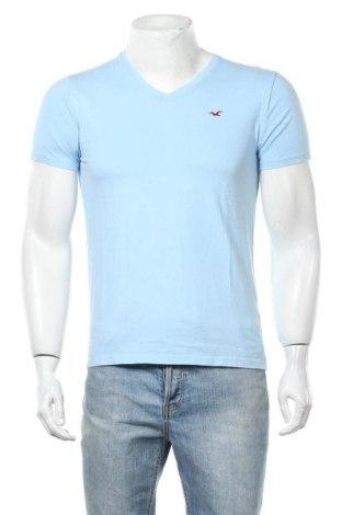 Мъжка тениска Hollister, Размер S, Цвят Син, Памук, Цена 13,97лв.