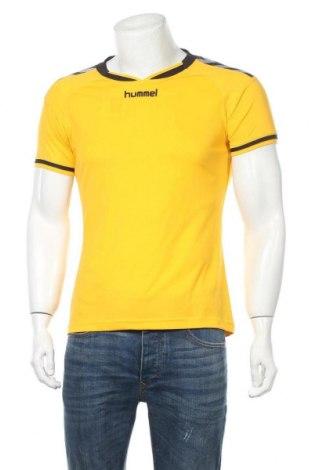 Ανδρικό t-shirt Hummel, Μέγεθος M, Χρώμα Κίτρινο, Τιμή 9,87€