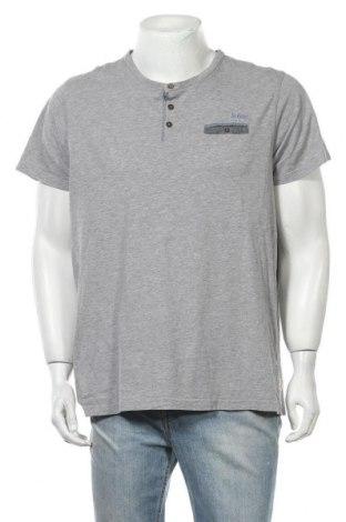 Мъжка тениска Lee Cooper, Размер XL, Цвят Сив, 87% памук, 13% вискоза, Цена 12,29лв.