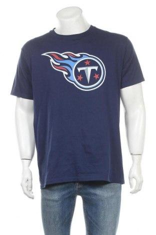 Ανδρικό t-shirt NFL, Μέγεθος L, Χρώμα Μπλέ, Βαμβάκι, Τιμή 14,81€
