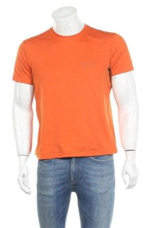 Мъжка тениска Quechua, Размер L, Цвят Оранжев, Полиестер, Цена 11,34лв.