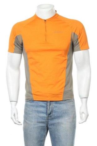 Мъжка тениска Quechua, Размер S, Цвят Оранжев, Полиестер, Цена 8,19лв.