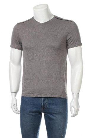 Ανδρικό t-shirt Rbx, Μέγεθος S, Χρώμα Γκρί, 68% πολυεστέρας, 32% βαμβάκι, Τιμή 5,85€