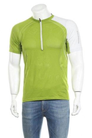 Мъжка тениска Salomon, Размер M, Цвят Зелен, 92% полиестер, 8% еластан, Цена 25,52лв.