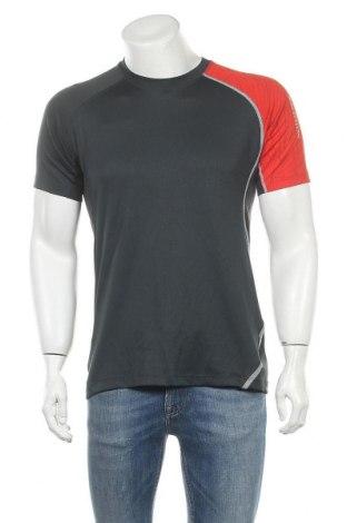 Мъжка тениска Salomon, Размер L, Цвят Сив, Полиестер, други нишки, Цена 20,16лв.