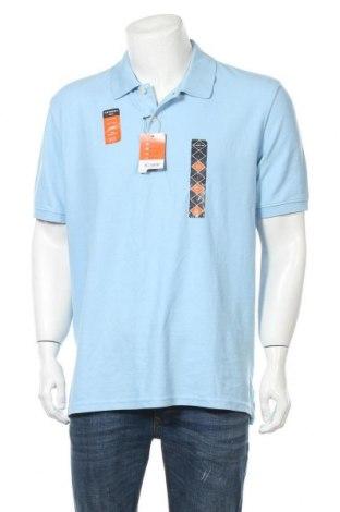 Ανδρικό t-shirt St. John's Bay, Μέγεθος L, Χρώμα Μπλέ, 60% βαμβάκι, 40% πολυεστέρας, Τιμή 13,45€