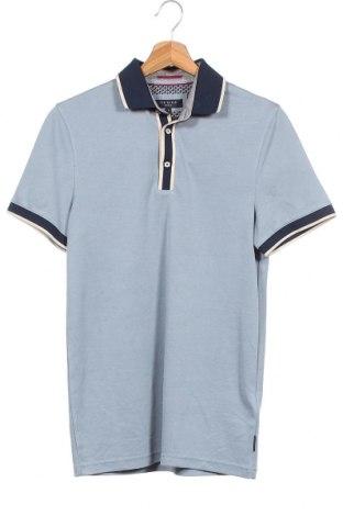 Ανδρικό t-shirt Ted Baker, Μέγεθος XS, Χρώμα Μπλέ, 64% μοντάλ, 36% πολυεστέρας, Τιμή 18,51€