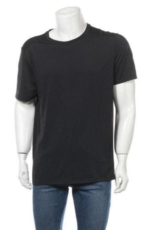 Ανδρικό t-shirt Tex, Μέγεθος XXL, Χρώμα Μαύρο, 87% πολυεστέρας, 13% ελαστάνη, Τιμή 6,17€