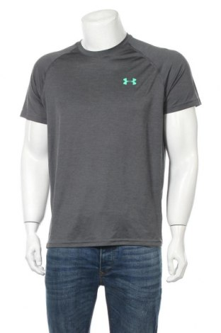 Мъжка тениска Under Armour, Размер M, Цвят Сив, Цена 27,93лв.