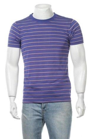 Мъжка тениска Uniqlo, Размер M, Цвят Лилав, Полиестер, Цена 16,96лв.