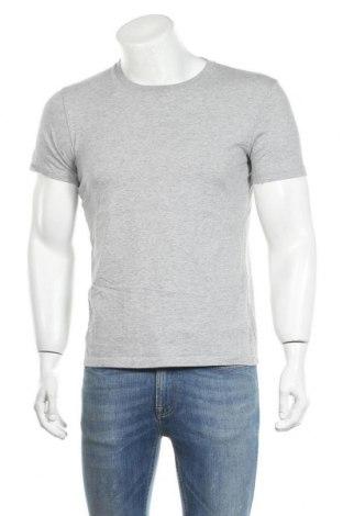 Мъжка тениска Uniqlo, Размер S, Цвят Сив, Памук, Цена 15,96лв.