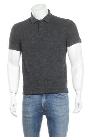 Мъжка тениска Uniqlo, Размер M, Цвят Сив, 72% памук, 28% полиестер, Цена 16,96лв.