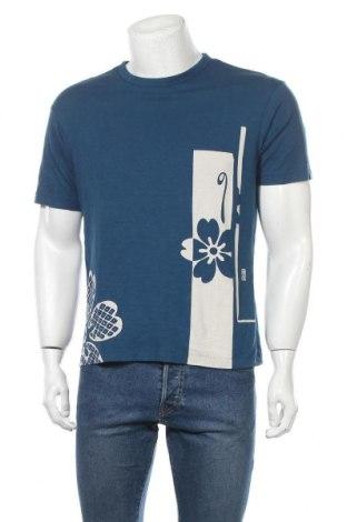 Мъжка тениска Uniqlo, Размер S, Цвят Син, 100% памук, Цена 15,96лв.