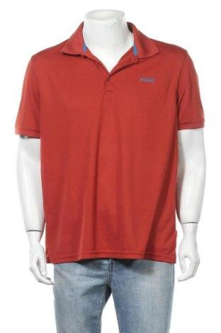 Мъжка тениска Vittorio Rossi, Размер XXL, Цвят Червен, Полиестер, Цена 16,80лв.