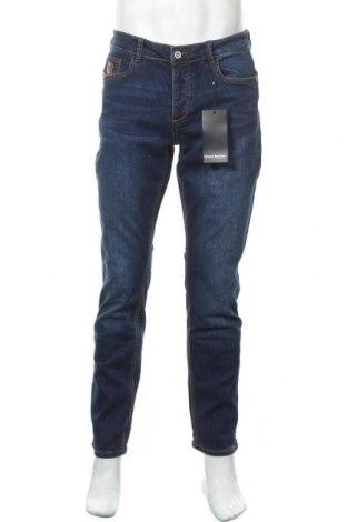 Мъжки дънки Bruno Banani, Размер M, Цвят Син, 98% памук, 2% еластан, Цена 60,52лв.