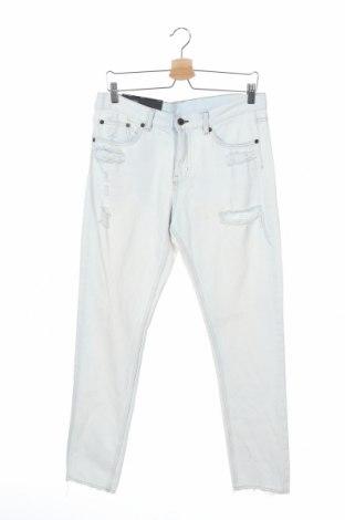 Мъжки дънки Cheap Monday, Размер M, Цвят Син, Памук, Цена 20,26лв.