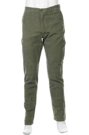 Мъжки джинси Trussardi Jeans, Размер L, Цвят Зелен, 98% памук, 2% еластан, Цена 95,40лв.