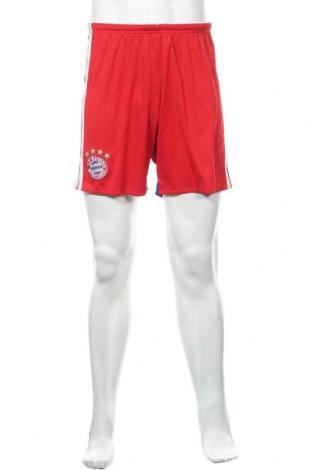 Ανδρικό κοντό παντελόνι Adidas, Μέγεθος M, Χρώμα Κόκκινο, Πολυεστέρας, Τιμή 10,00€