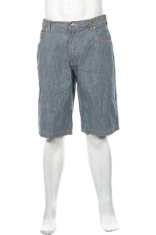 Мъжки къс панталон Biaggini, Размер L, Цвят Син, Памук, Цена 19,95лв.
