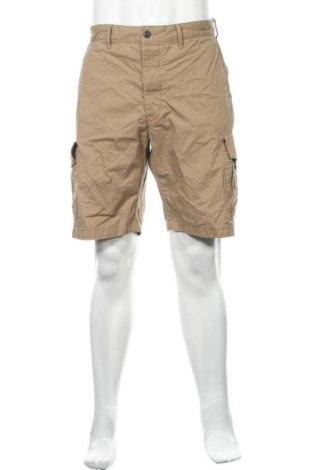 Мъжки къс панталон H&M L.O.G.G., Размер XL, Цвят Бежов, Памук, Цена 14,96лв.