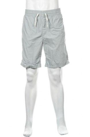 Мъжки къс панталон H&M L.O.G.G., Размер L, Цвят Син, Памук, Цена 16,80лв.