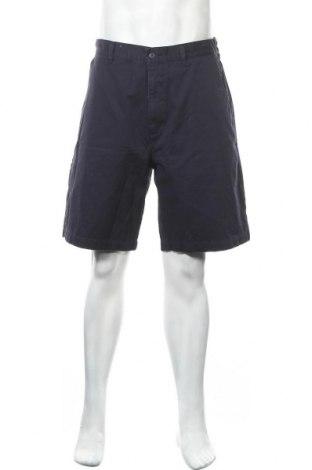 Мъжки къс панталон Hema, Размер L, Цвят Син, Памук, Цена 18,48лв.
