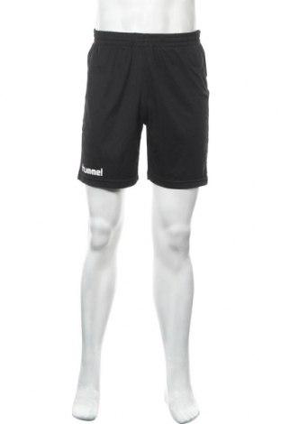 Ανδρικό κοντό παντελόνι Hummel, Μέγεθος M, Χρώμα Μαύρο, Πολυεστέρας, Τιμή 11,69€