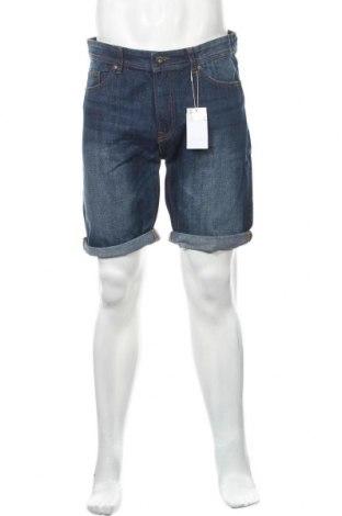 Ανδρικό κοντό παντελόνι Springfield, Μέγεθος L, Χρώμα Μπλέ, Βαμβάκι, Τιμή 18,19€