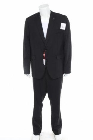 Мъжки костюм Bruno Banani, Размер XL, Цвят Черен, 69% полиестер, 29% вискоза, 2% еластан, Цена 169,32лв.