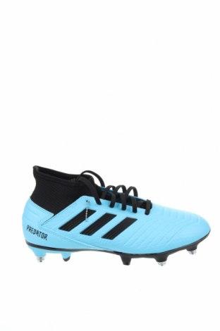 Мъжки обувки Adidas, Размер 39, Цвят Син, Еко кожа, Цена 141,75лв.
