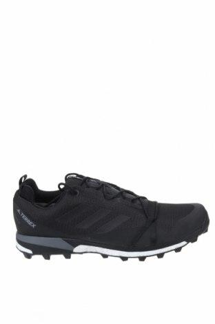 Ανδρικά παπούτσια Adidas, Μέγεθος 49, Χρώμα Μαύρο, Κλωστοϋφαντουργικά προϊόντα, Τιμή 55,36€