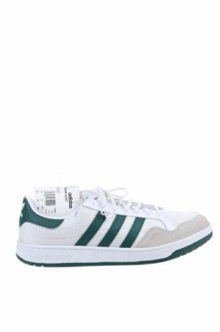 Ανδρικά παπούτσια Adidas Originals, Μέγεθος 48, Χρώμα Λευκό, Κλωστοϋφαντουργικά προϊόντα, γνήσιο δέρμα, φυσικό σουέτ, δερματίνη, Τιμή 50,75€