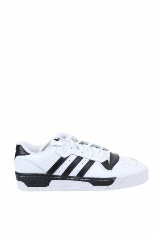 Мъжки обувки Adidas Originals, Размер 48, Цвят Бял, Естествена кожа, Цена 134,25лв.