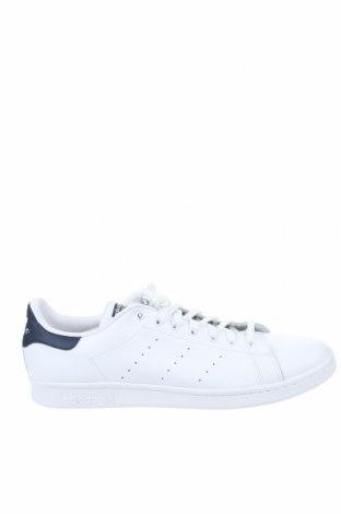 Ανδρικά παπούτσια Adidas Originals, Μέγεθος 51, Χρώμα Λευκό, Γνήσιο δέρμα, Τιμή 50,75€